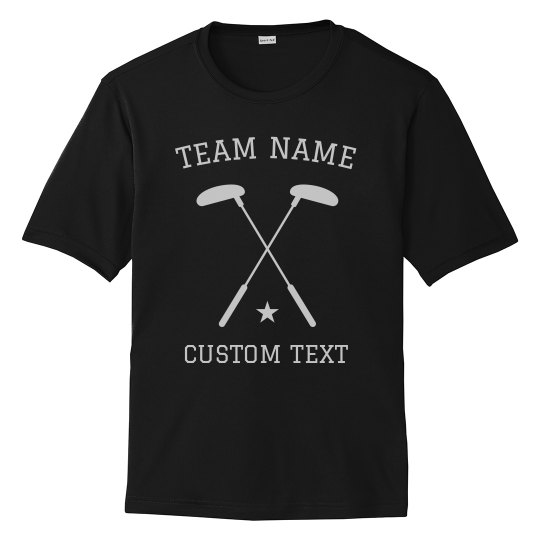 Custom Golf Team Tees