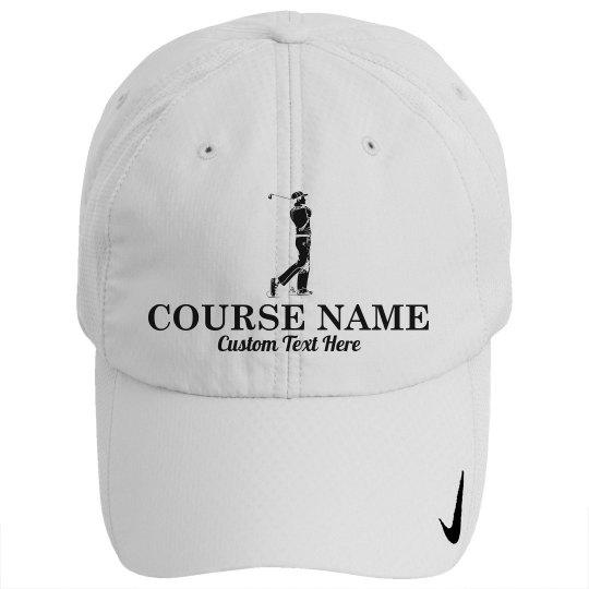Custom Golfer Course Hat