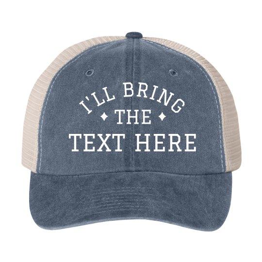 Custom Group Bachelorette Hats