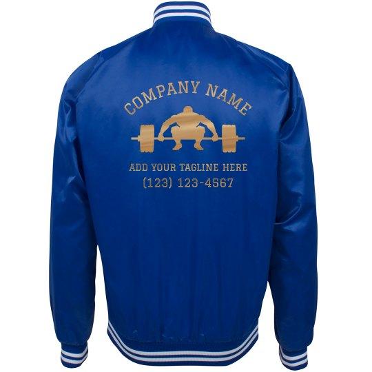 Custom Gym Business Workout Jacket
