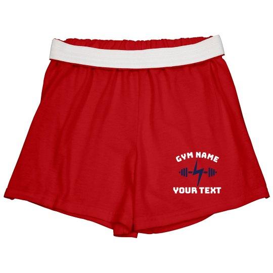 Custom Gym Logo Shorts