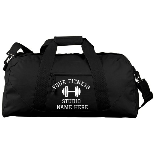 Custom Gym Name Duffle
