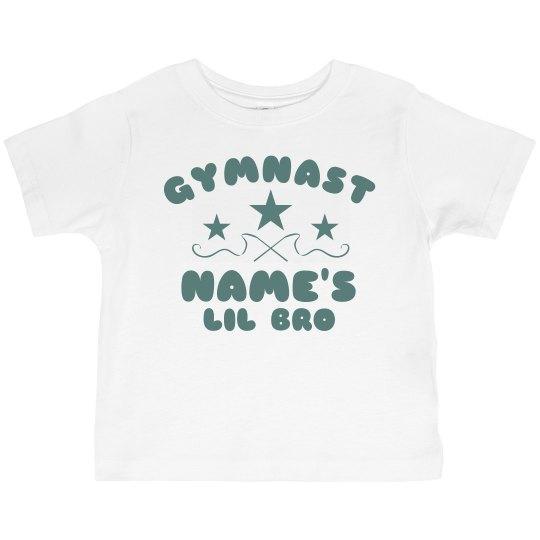 Custom Gymnast Lil Bro Tee