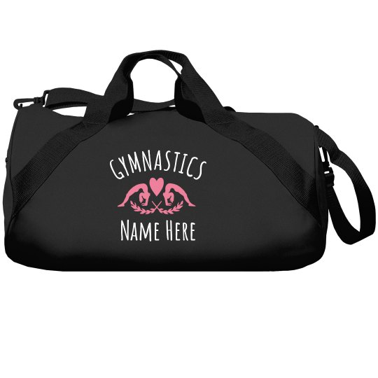 Custom Gymnastics Bag Name Here