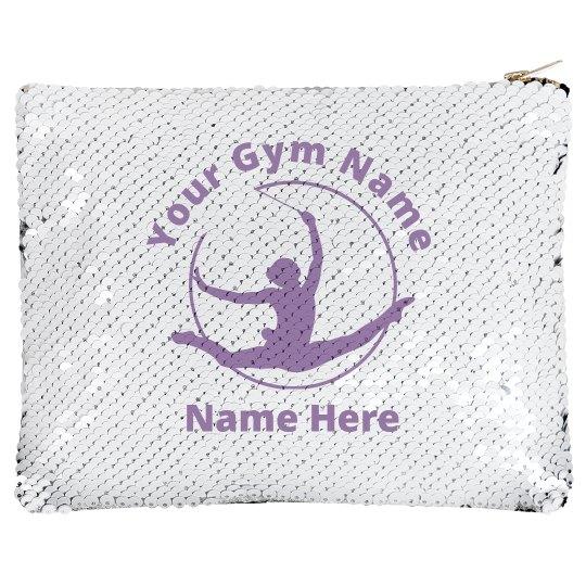 Custom Gymnastics Sequin Bag