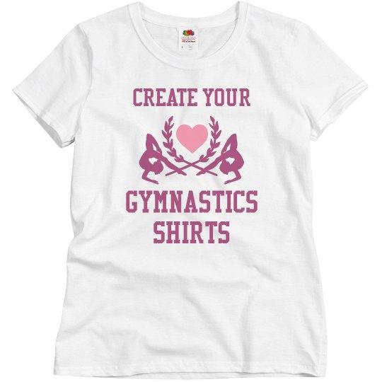 Custom Gymnastics Team Shirts
