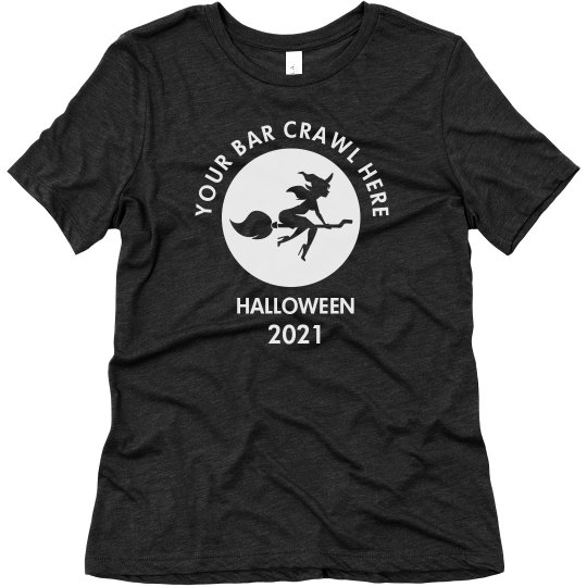 Custom Halloween Bar Crawl T-Shirt