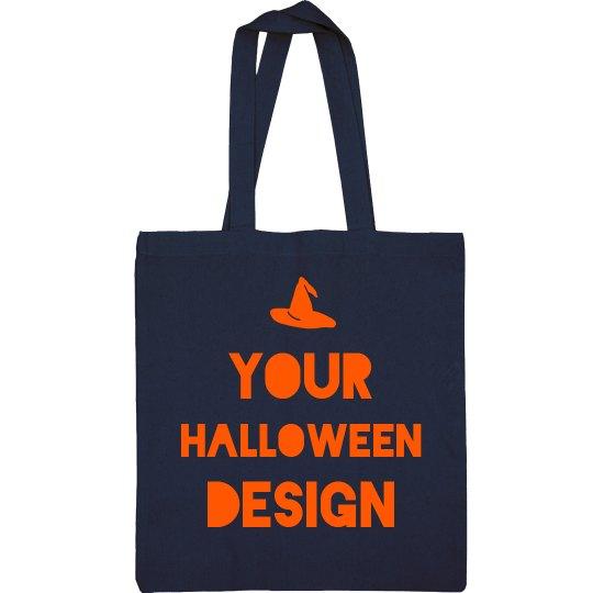 Custom Halloween Metallic Candy Bag