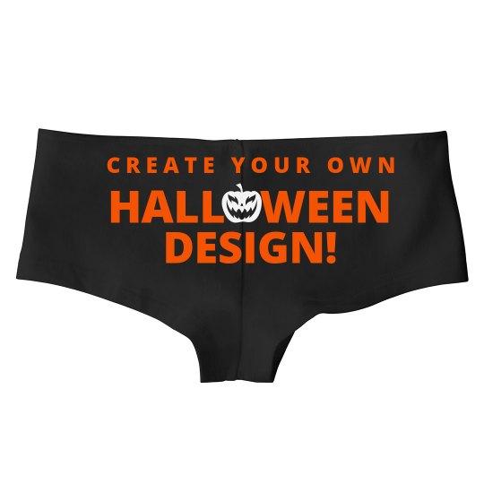 Custom Halloween Undies