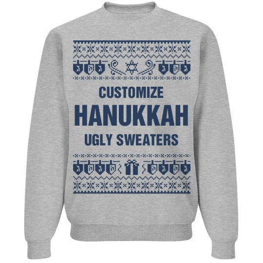 Custom Hanukkah Sweaters