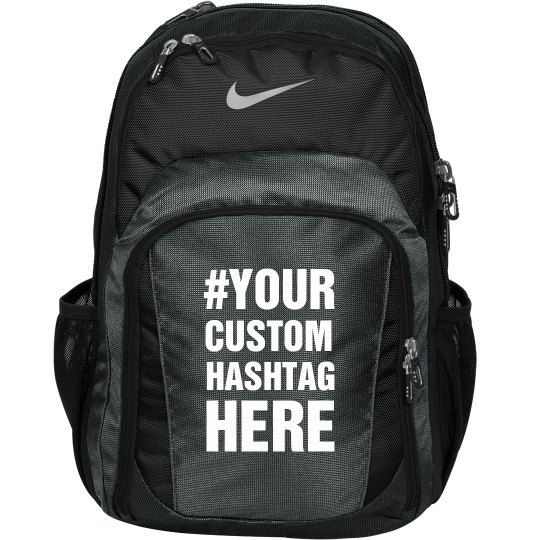 Custom Hashtag Nike Bag