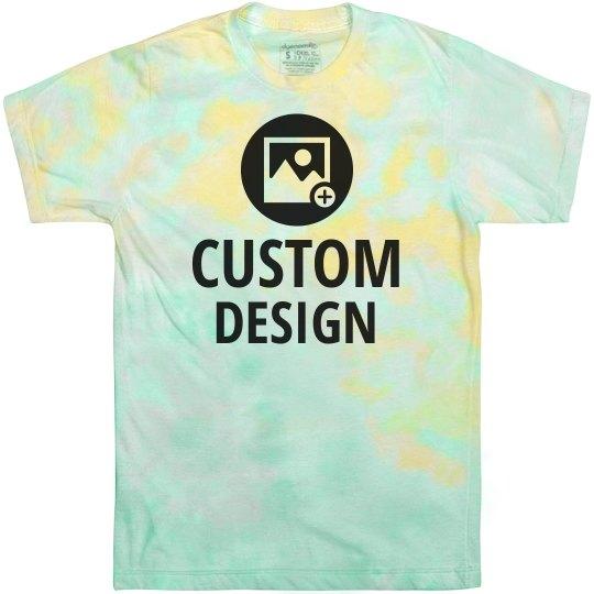 Custom Hazy Dream Tie-Dye Tee