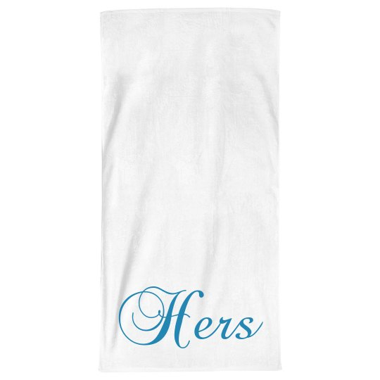 Custom Hers Bath Towel