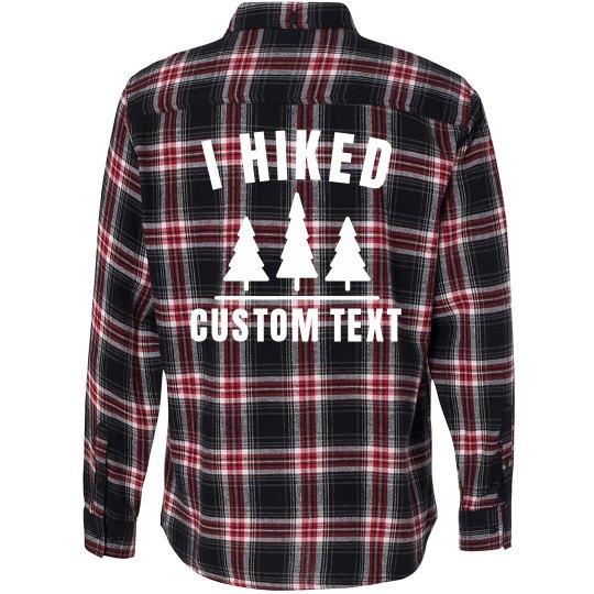 Custom Hiking Flannel