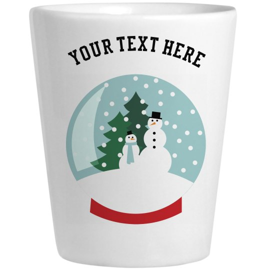 Custom Holiday Shot Glass