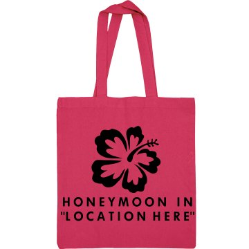 Custom Honeymoon Bag