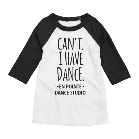 Custom I Can't I Have Dance With Studio