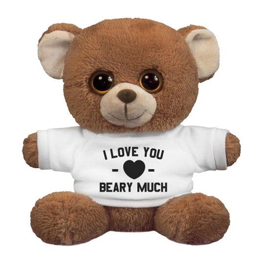 Custom I Love You Beary Much
