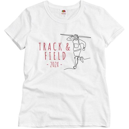 Custom Illustrated Track Shirt