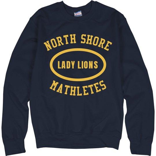 Custom I'm A North Shore Mathlete