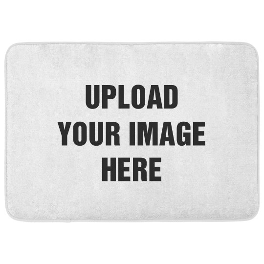 Custom Image Upload Bath Mat