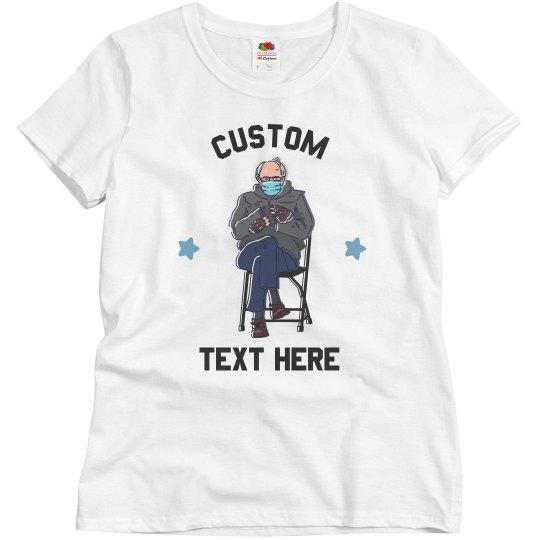 Custom Inauguration Bernie Sanders Tee