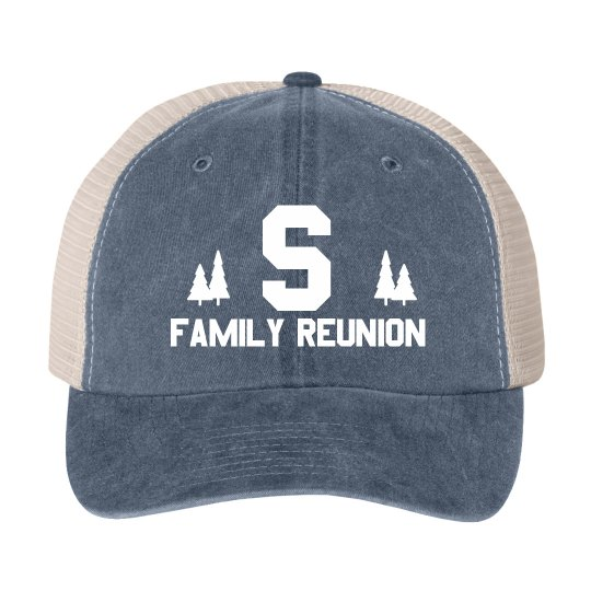 Custom Initial Reunion Tree Hat