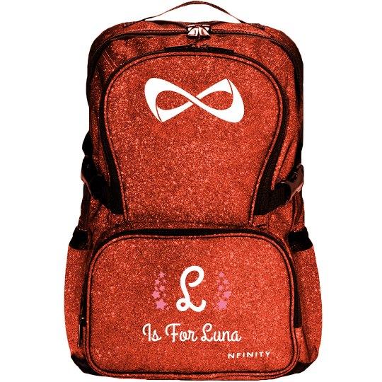 Custom Initial Star Backpack