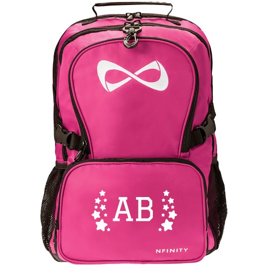 Custom Initials Nfinity Star Backpack