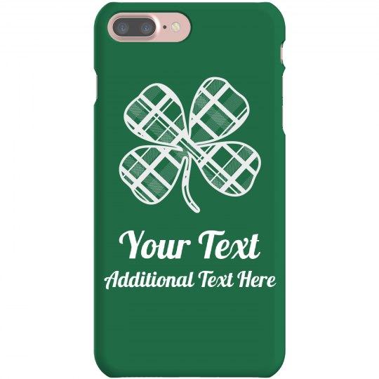 Custom Irish Green Phone Case