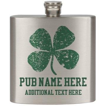 Custom Irish Pub Bar Accessories