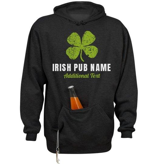 Custom Irish Pub Beer Hoodies