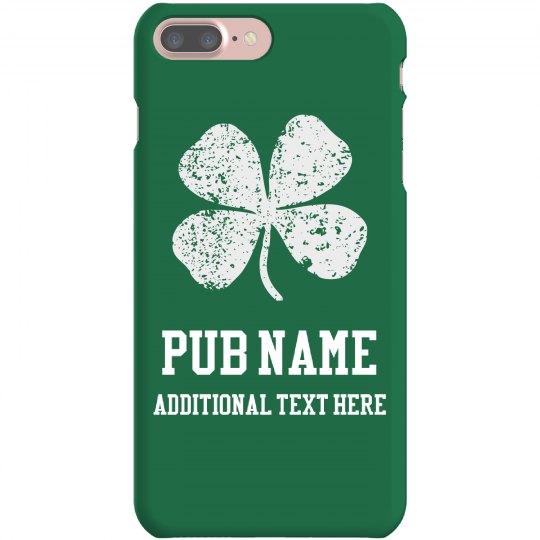 Custom Irish Pub St Patricks Day