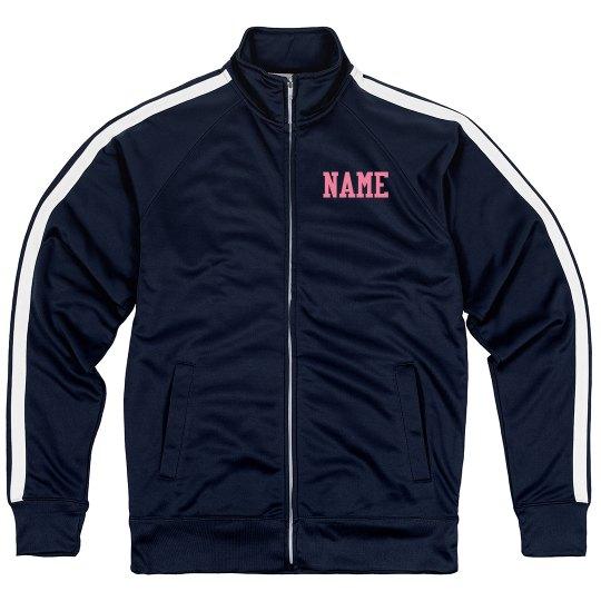 Custom Jacket With Gym Name