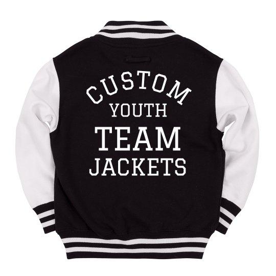 Custom Jackets For Youth Teams