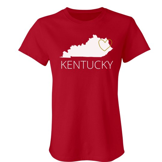 Custom Kentucky Heart