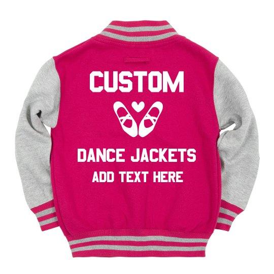 Custom Kids Dance Jacket