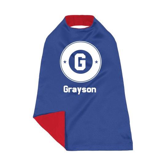 Custom Kids Dress Up Superhero