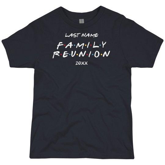 Custom Kids Friendly Family Reunion