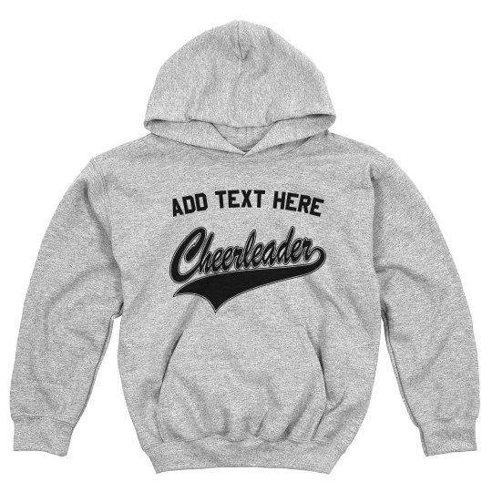 Custom Kids Name Cheerleader