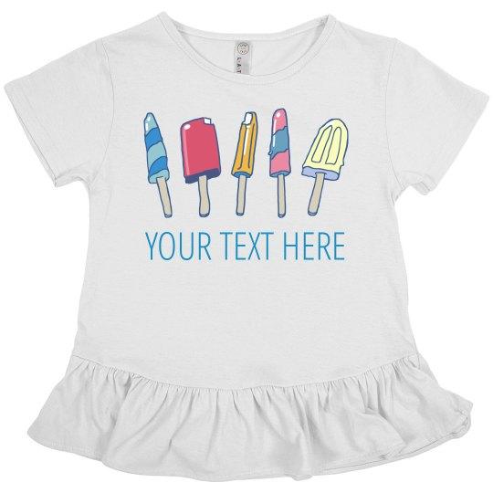 Custom Kids Summer Picnic Popsicles