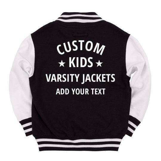 Custom Kids Varsity Jacket