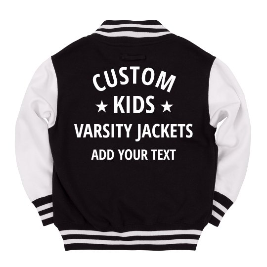 Custom Kids Varsity Jacket