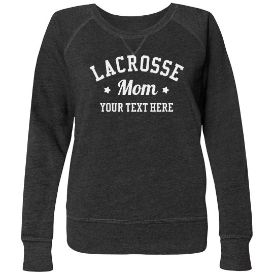 Custom Lacrosse Mom Plus Pullover