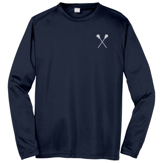 Custom Lacrosse Team Long Sleeve Tees