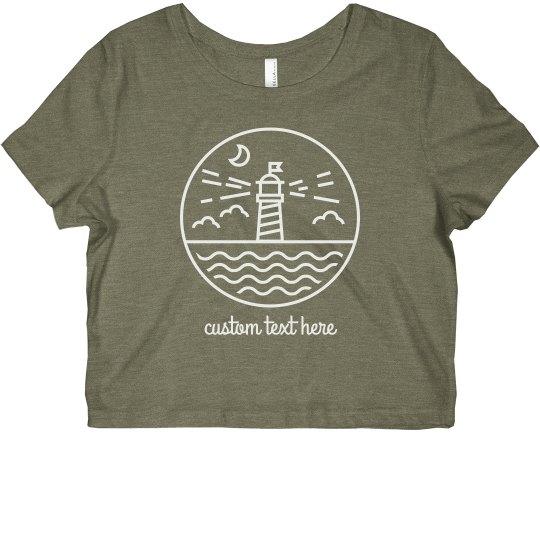 Custom Lake Lighthouse Crop