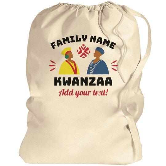 Custom Last Name Kwanzaa Bag