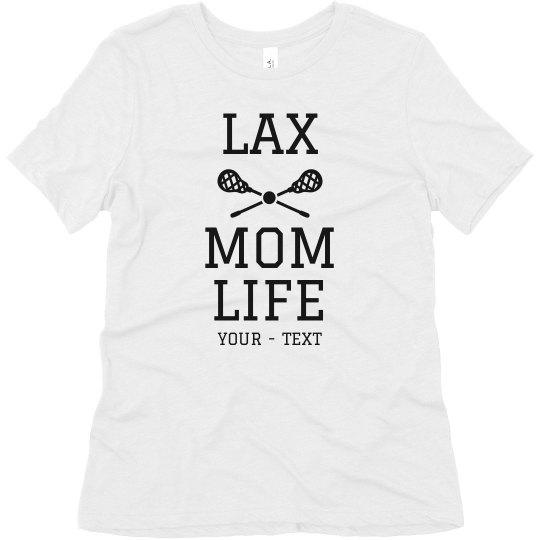 Custom Lax Mom Life