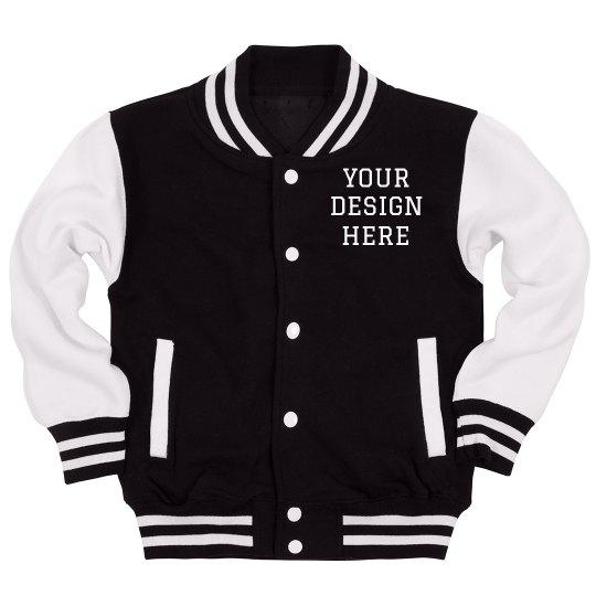 Custom Letterman Kids Jacket