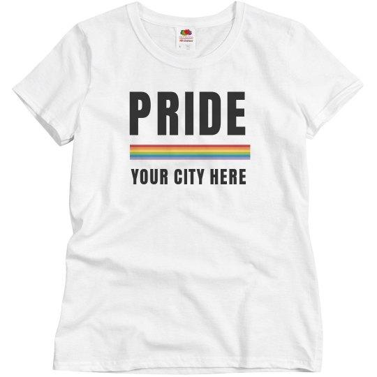 Custom LGBT Pride Day Rainbow